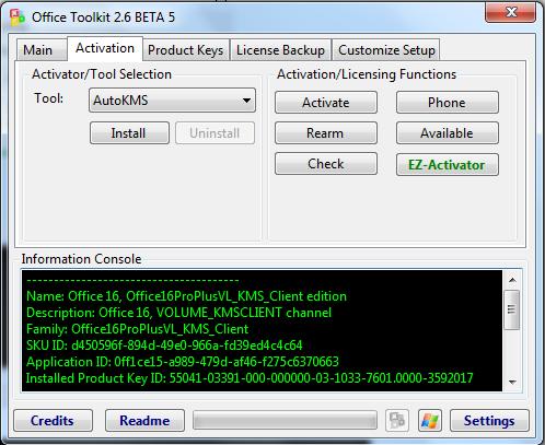 Microsoft Toolkit - windows