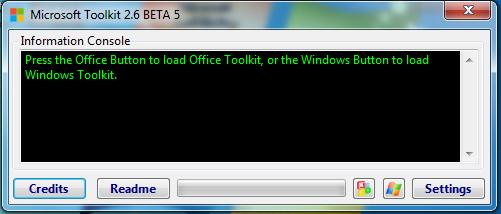 Microsoft Toolkit kich hoat