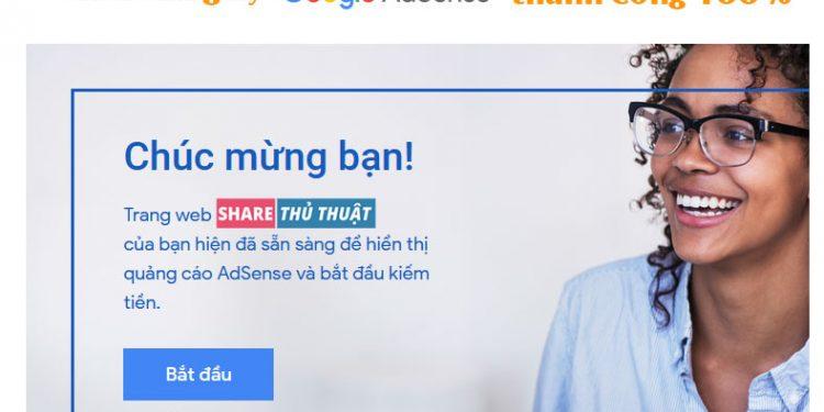 đăng ký google adsense cho website
